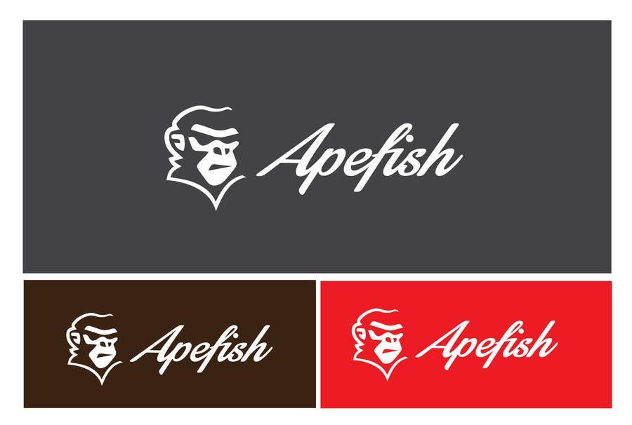 Kilpailutyö #2 kilpailussa Apefish logo
