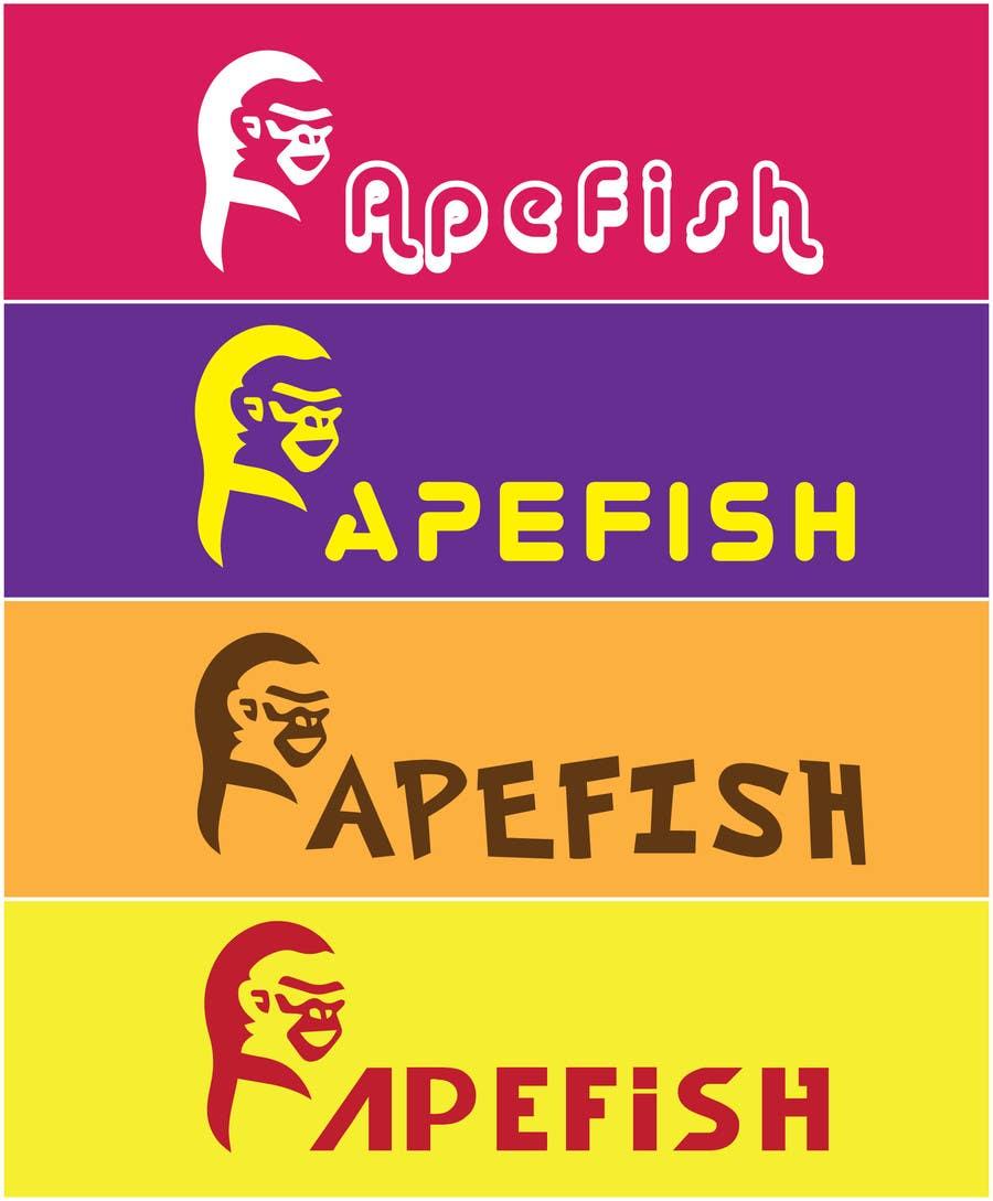 Kilpailutyö #6 kilpailussa Apefish logo