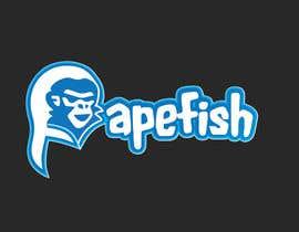 Nro 11 kilpailuun Apefish logo käyttäjältä orangethief