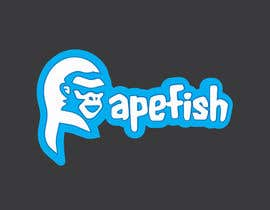 Nro 16 kilpailuun Apefish logo käyttäjältä orangethief