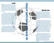 Graphic Design for uk saints brochure için Graphic Design5 No.lu Yarışma Girdisi
