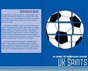 Graphic Design for uk saints brochure için Graphic Design6 No.lu Yarışma Girdisi