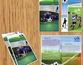 #15 untuk Graphic Design for uk saints brochure oleh RMbrand
