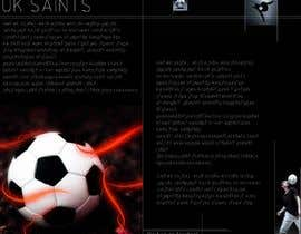 nº 21 pour Graphic Design for uk saints brochure par XpertDesigner007