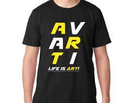 #19 for Design a T-Shirt for avarti by jonnaDesign008