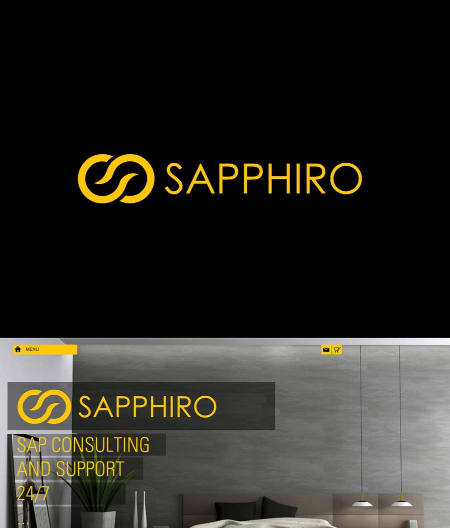 Konkurrenceindlæg #48 for Develop a Corporate Identity for SAPPHIRO Ltd.