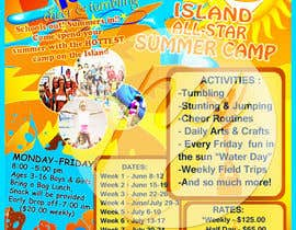 #13 untuk Design a Flyer for Cheerleading summer camp oleh phylaretus