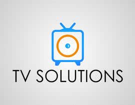 "#4 for Design a Logo for a company called ""TV Solutions"" af NikWB"
