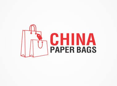 Nro 42 kilpailuun Design a Logo for ChinaPaperBags.com käyttäjältä tedi1