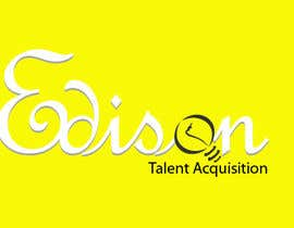 #32 untuk Design a flat logo for Edison Talent Acquisition (Web Design Recruitment). Think inventions crossed with monopoly! oleh nat385