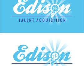 #25 untuk Design a flat logo for Edison Talent Acquisition (Web Design Recruitment). Think inventions crossed with monopoly! oleh manfredslot