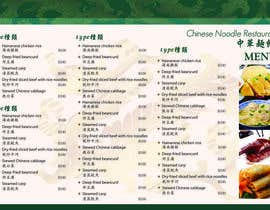 #4 for Design a MENU for a Chinese Noodle Restaurant af lilac18