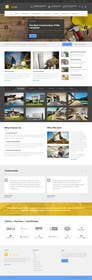 #6 untuk Design a Website Mockup for small building company oleh WeakyRock