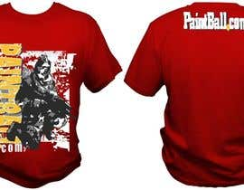 #76 untuk Design a T-Shirt for PaintBall.com oleh bacujkov