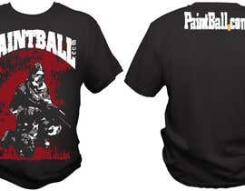 #79 untuk Design a T-Shirt for PaintBall.com oleh bacujkov