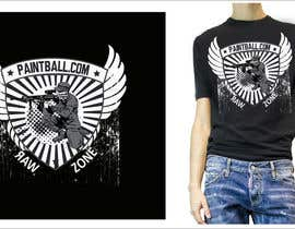 #81 untuk Design a T-Shirt for PaintBall.com oleh passionstyle