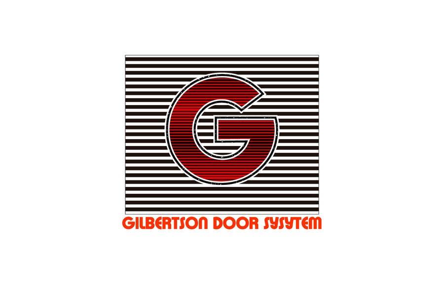 Kilpailutyö #54 kilpailussa Design a Logo for Gilbertson Door Systems