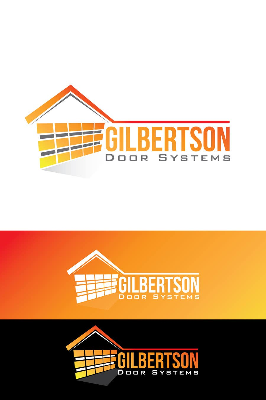 Kilpailutyö #33 kilpailussa Design a Logo for Gilbertson Door Systems