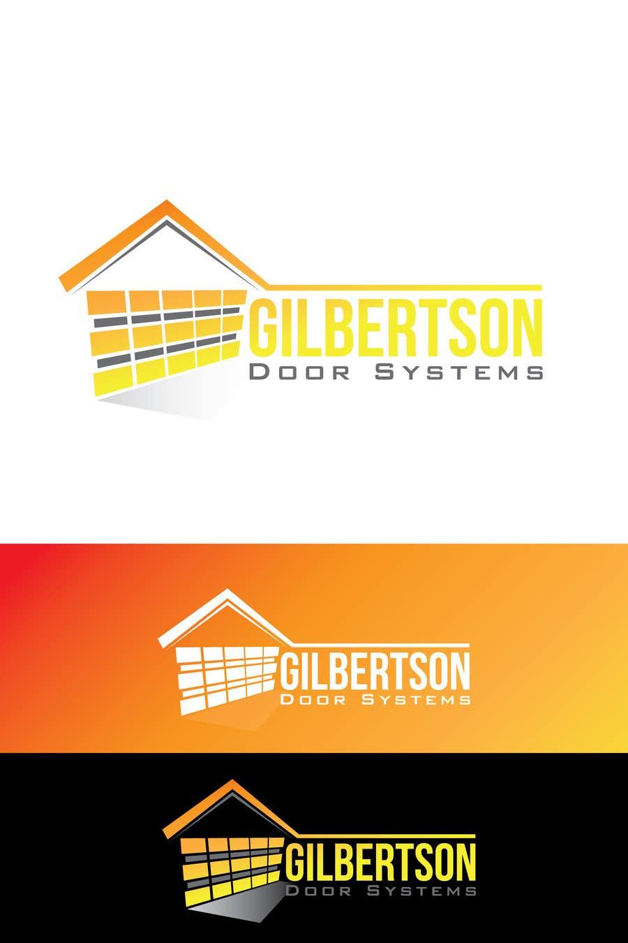 Kilpailutyö #41 kilpailussa Design a Logo for Gilbertson Door Systems
