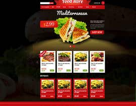 MadniInfoway01 tarafından Design a Website Mockup for retail food company için no 31