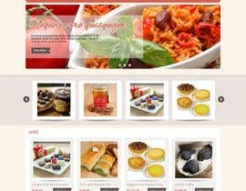 MadniInfoway01 tarafından Design a Website Mockup for retail food company için no 33