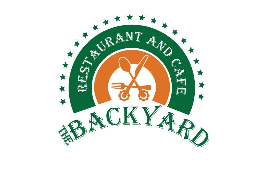 "Bài tham dự cuộc thi #83 cho Diseñar un logotipo para Restaurant Café ""The Backyard"""