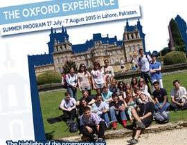 #50 untuk Design an Advertisement for Oxford Institute oleh knon25
