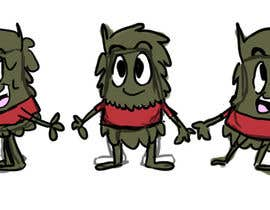 #9 for Create our Mud Monster Mascot  Animation af NicoleRenee25