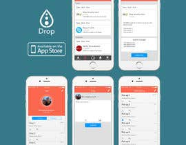 #5 for Design an App Mockup for mobile social network af amineatlassi
