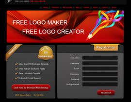 #24 para Sign Up page for Online Logo Maker por badhon86