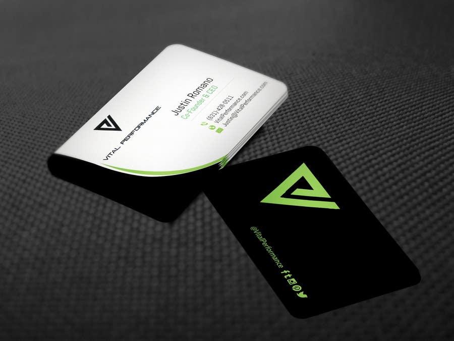 Kilpailutyö #24 kilpailussa Design some Business Cards for Vital Performance