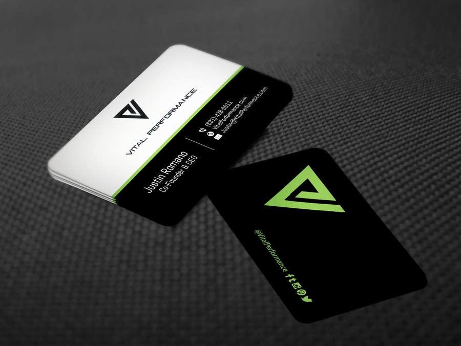 Kilpailutyö #28 kilpailussa Design some Business Cards for Vital Performance