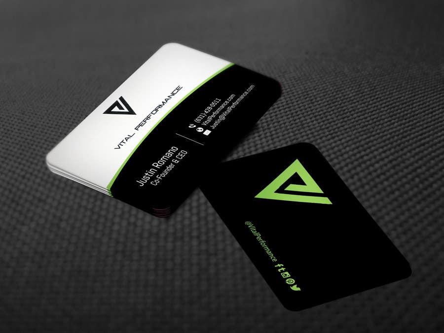 Kilpailutyö #29 kilpailussa Design some Business Cards for Vital Performance