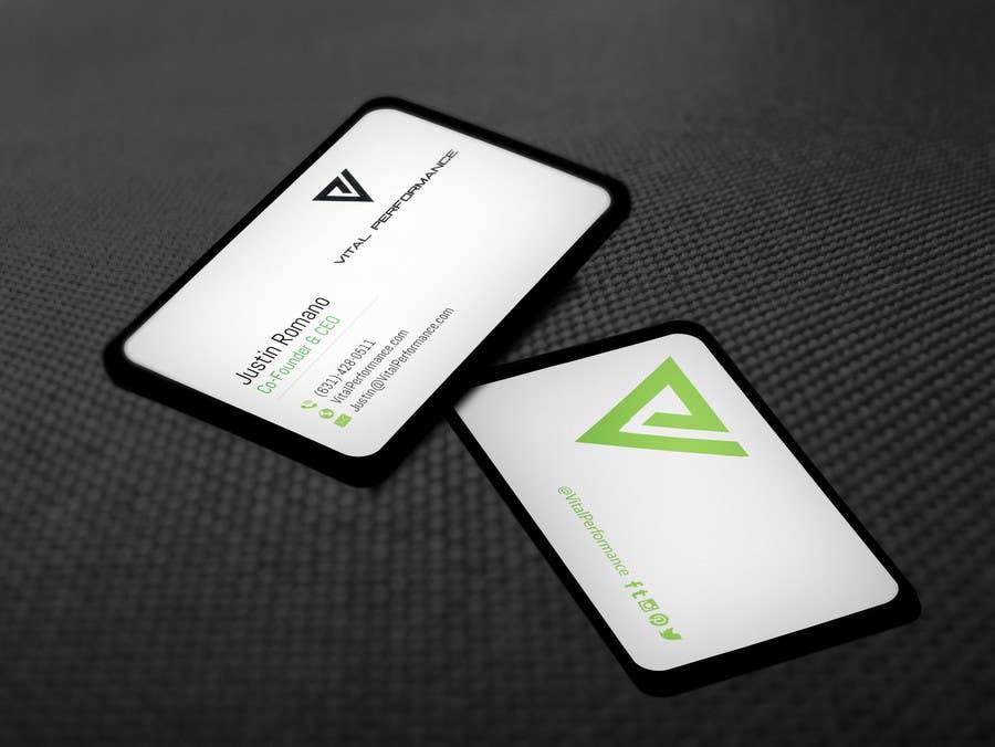 Kilpailutyö #36 kilpailussa Design some Business Cards for Vital Performance