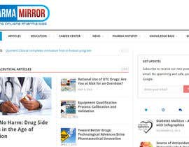 #29 untuk Design a Logo for a pharmaceutical related blog! oleh Med7008