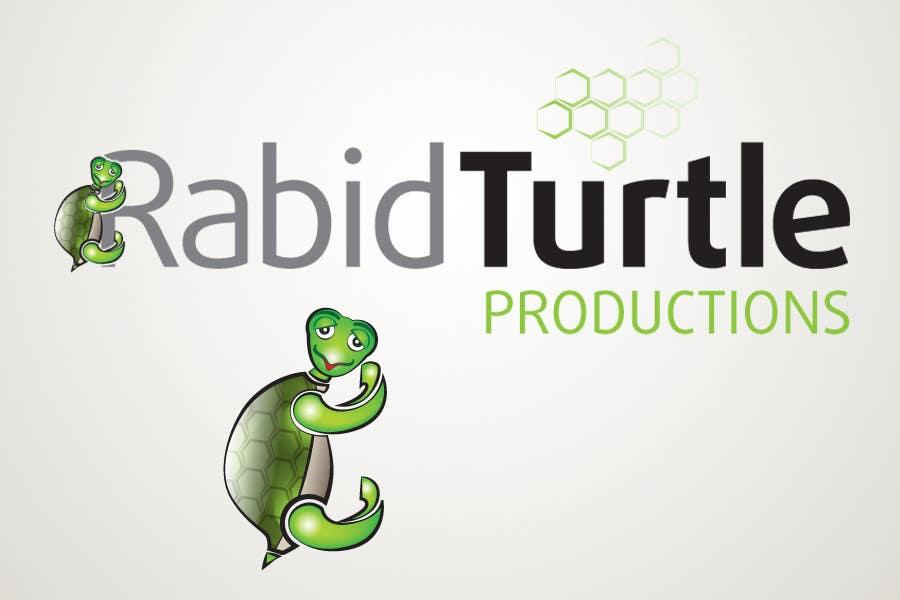 Конкурсная заявка №74 для Logo Design for Rabid Turtle Productions