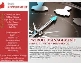 #24 untuk Design a Flyer for Payroll Management Services oleh ccgraphicdes