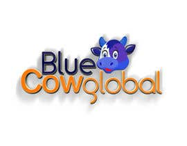 "indunil29 tarafından Design a Logo for our ""Blue Cow Global"" için no 224"