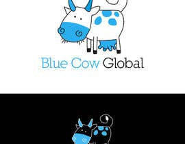 "mariacastillo67 tarafından Design a Logo for our ""Blue Cow Global"" için no 104"