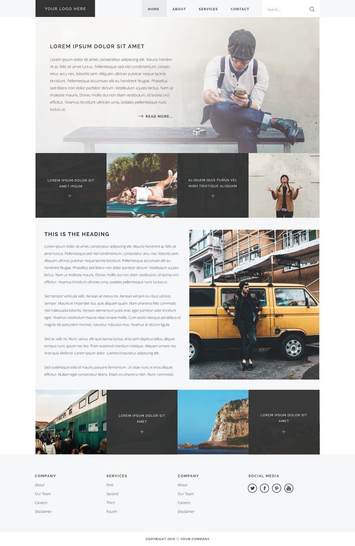 Bài tham dự cuộc thi #14 cho Design a webpage!