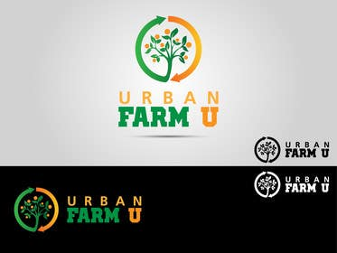 #78 untuk Develop a Corporate Identity for Urban Farm U oleh affineer