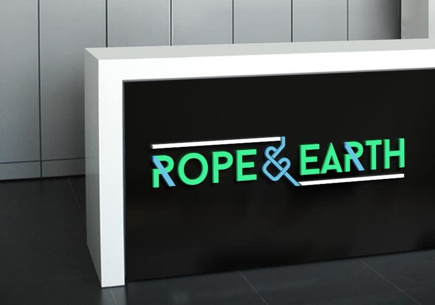 Kilpailutyö #44 kilpailussa Business Logo design for Rope & Earth