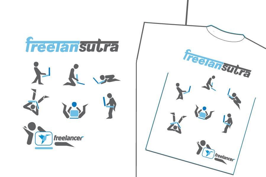 Proposta in Concorso #                                        86                                      per                                         T-shirt Re-design for Freelancer.com