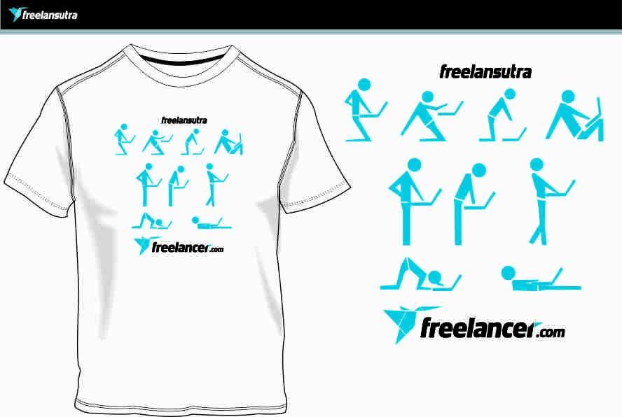 Inscrição nº                                         40                                      do Concurso para                                         T-shirt Re-design for Freelancer.com