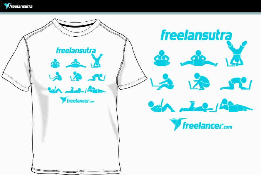 Proposta in Concorso #                                        94                                      per                                         T-shirt Re-design for Freelancer.com