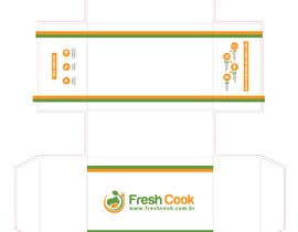 #14 para Box layout design for FreshCook.com.br por dexter000