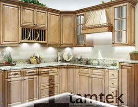 #12 for Adding lighting effects to kitchen cabinets af JepNaibaho