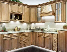 #18 for Adding lighting effects to kitchen cabinets af JepNaibaho