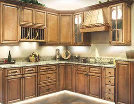 #7 for Adding lighting effects to kitchen cabinets af Dezign365web