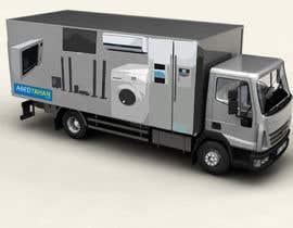 Nro 6 kilpailuun 3D Design - Truck Branding käyttäjältä sdmoovarss